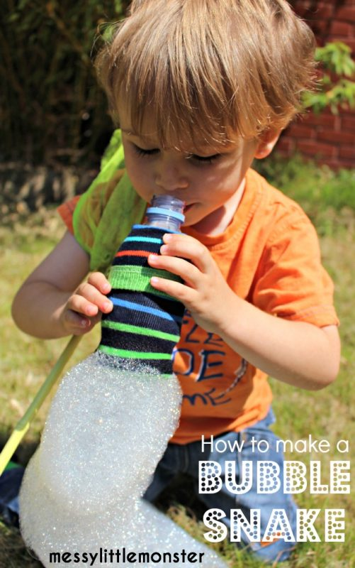 How to make a bubble snake and 23 other fun summer activities for toddlers
