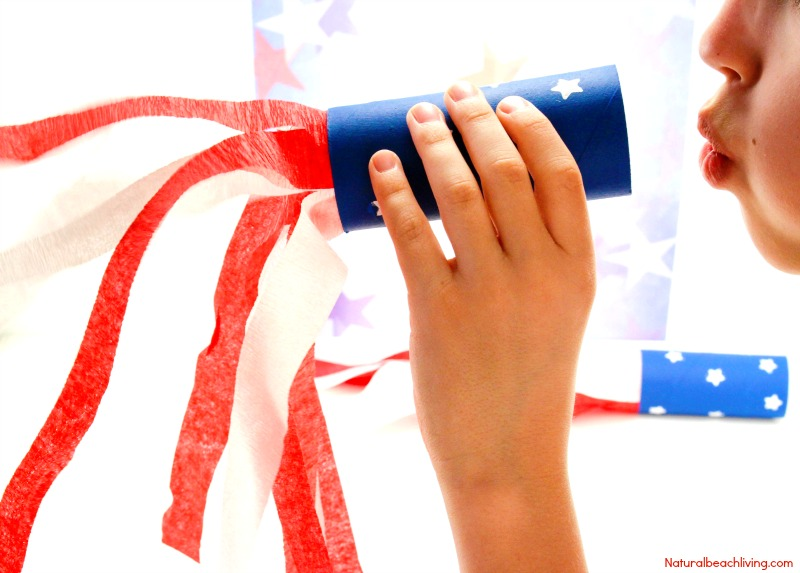 4th of july blower and 26 other 4th of july crafts for preschoolers