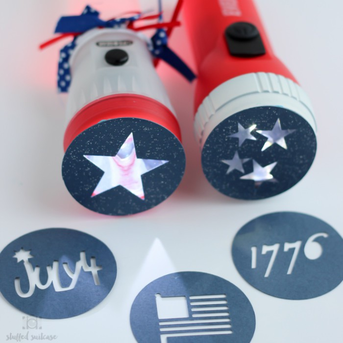 4th of july flashlights and 26 other 4th of july crafts for preschoolers