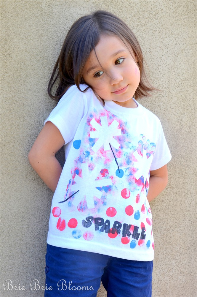 4th of july sparkler shirt and 26 other 4th of july crafts for preschoolers