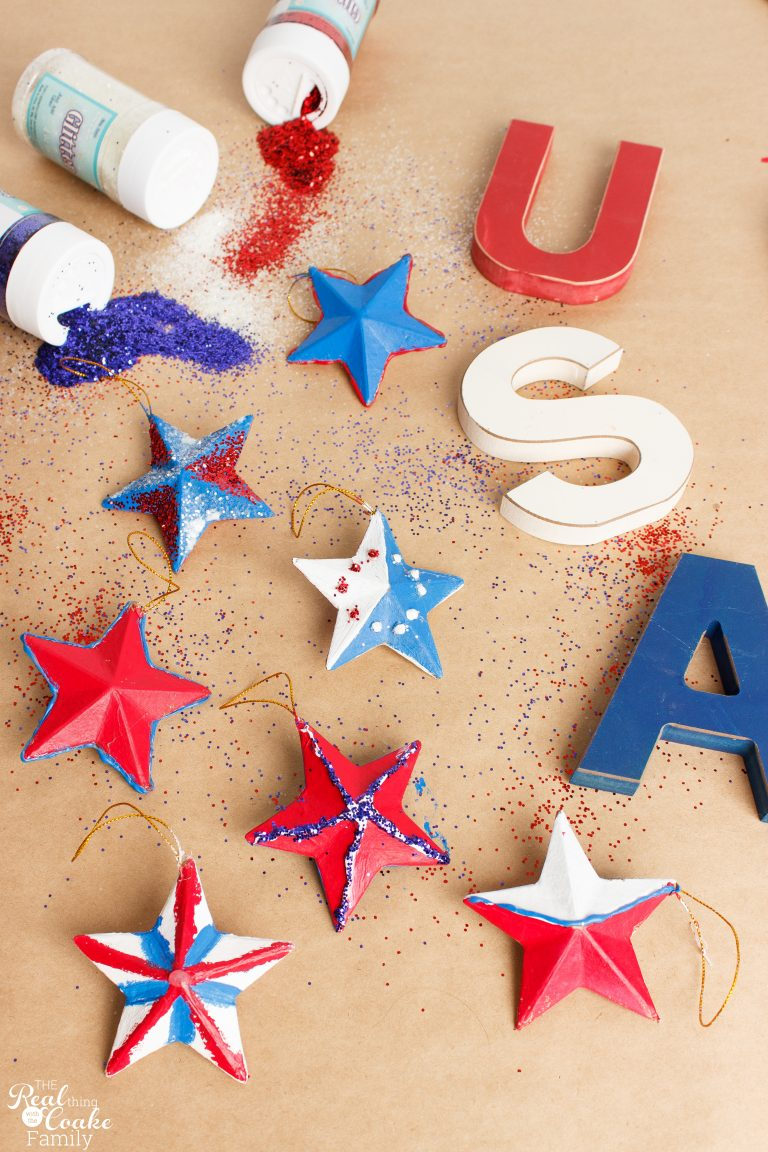 Glittery stars and 26 other 4th of july crafts for preschoolers