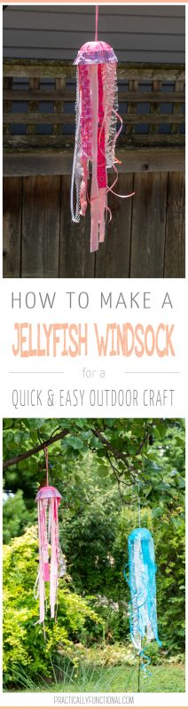 How to make a jellyfish windsock 2 photo