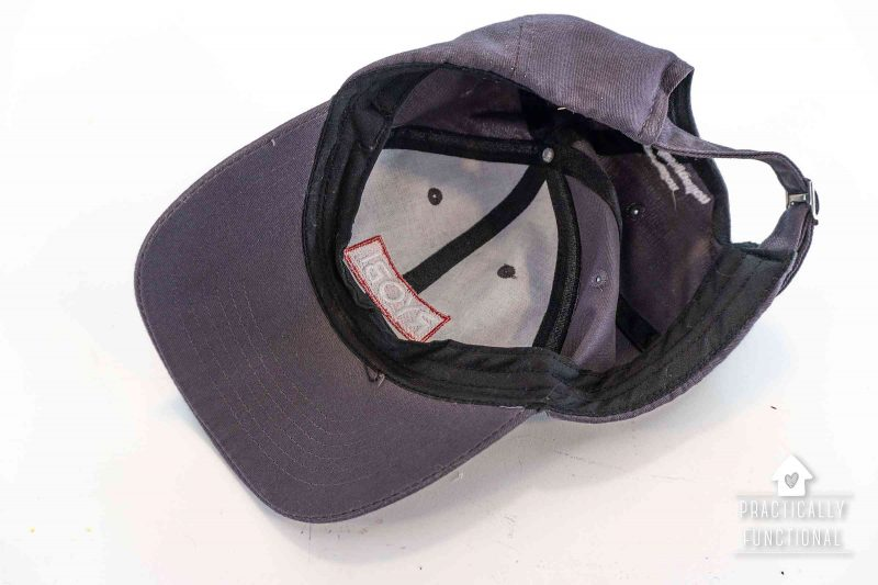 Learn the easiest way to wash a baseball cap in the dishwasher
