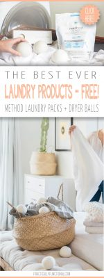 Go Green In The Laundry Room With FREE Method Laundry Detergent & Grove Dryer Balls!