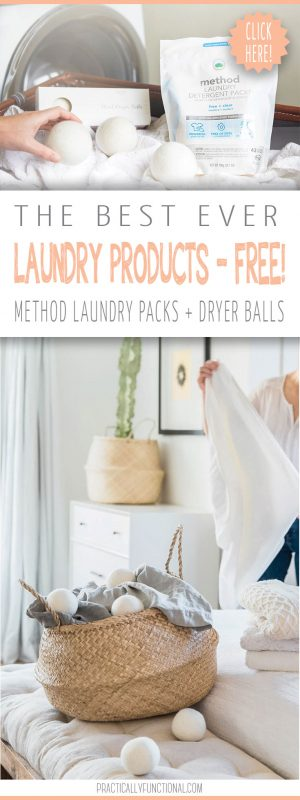 Make your laundry routine better with free method laundry detergent and dryer balls practically functional 14