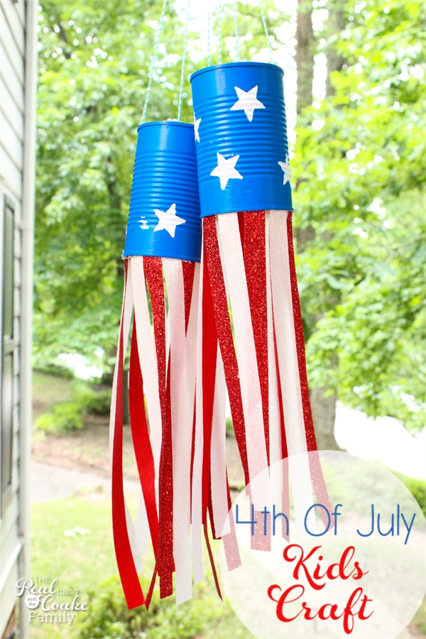 Patriotic wind socks and 26 other 4th of july crafts for preschoolers