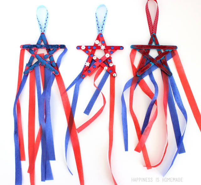 Star streamers and 26 other 4th of july crafts for preschoolers