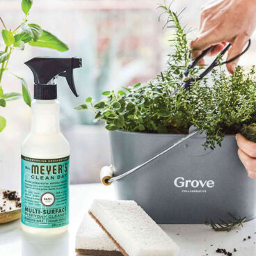 Free mrs. meyers cleaning products and caddy from grove collaborative practically functional 4