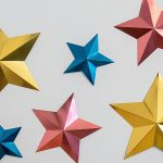 How to make 3d paper stars with the cricut scoring wheel practically functional facebook share 8
