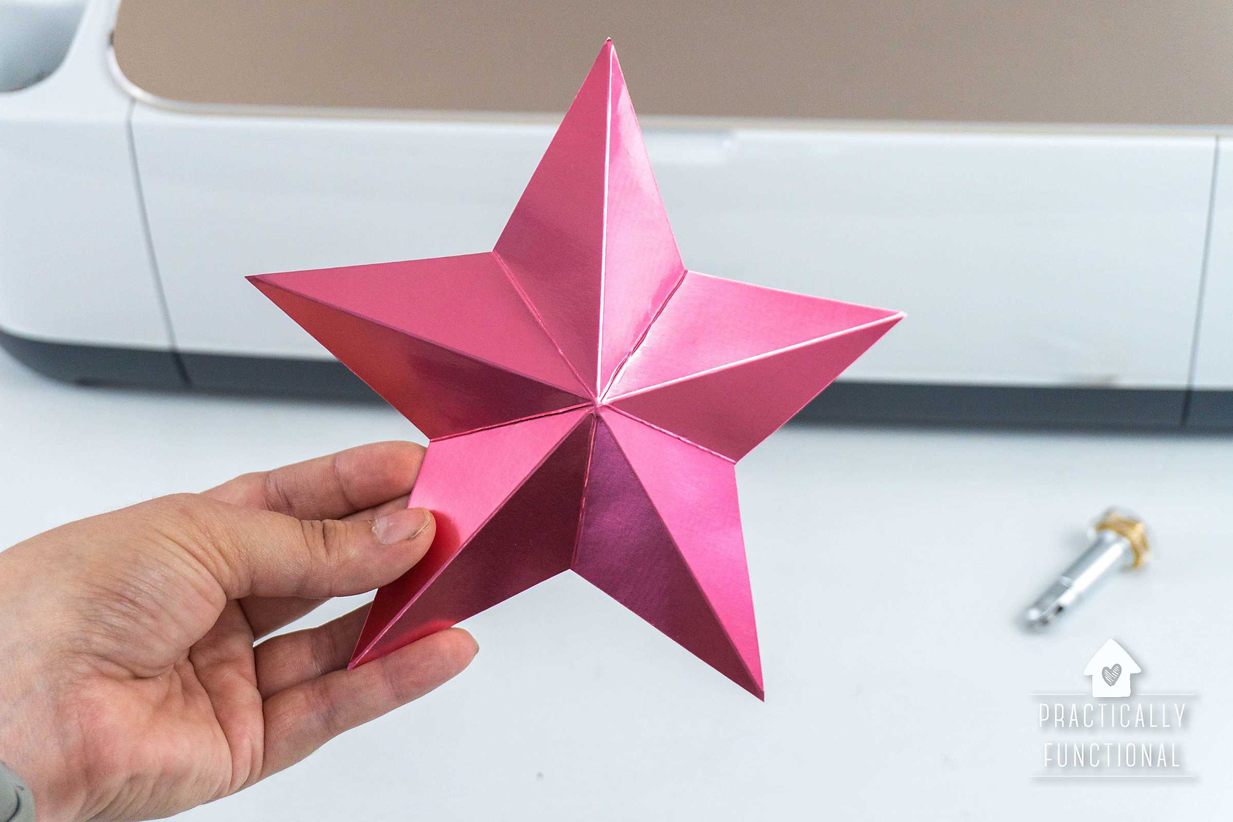 How to Origami a Christmas star box or hexagonal star box ... | 1600x2400