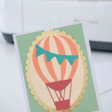 How to make a 3d pop up box card with cricut scoring wheel