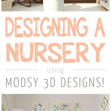 Designing A Nursery With My Favorite Room Design Tool