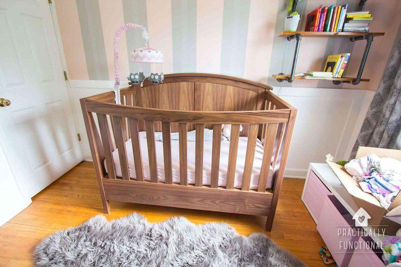 Designing A Nursery With Modsy My Favorite Room Design Tool Custom Furniture Crib