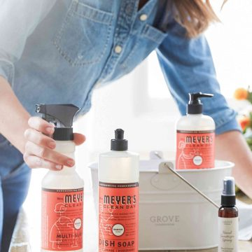 Free mrs. meyer's cleaning products from grove collaborative 6