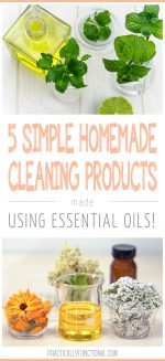 5 Simple Homemade Cleaning Products Using Essential Oils