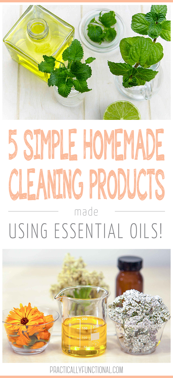 5 Easy Homemade Herbal Cleaners