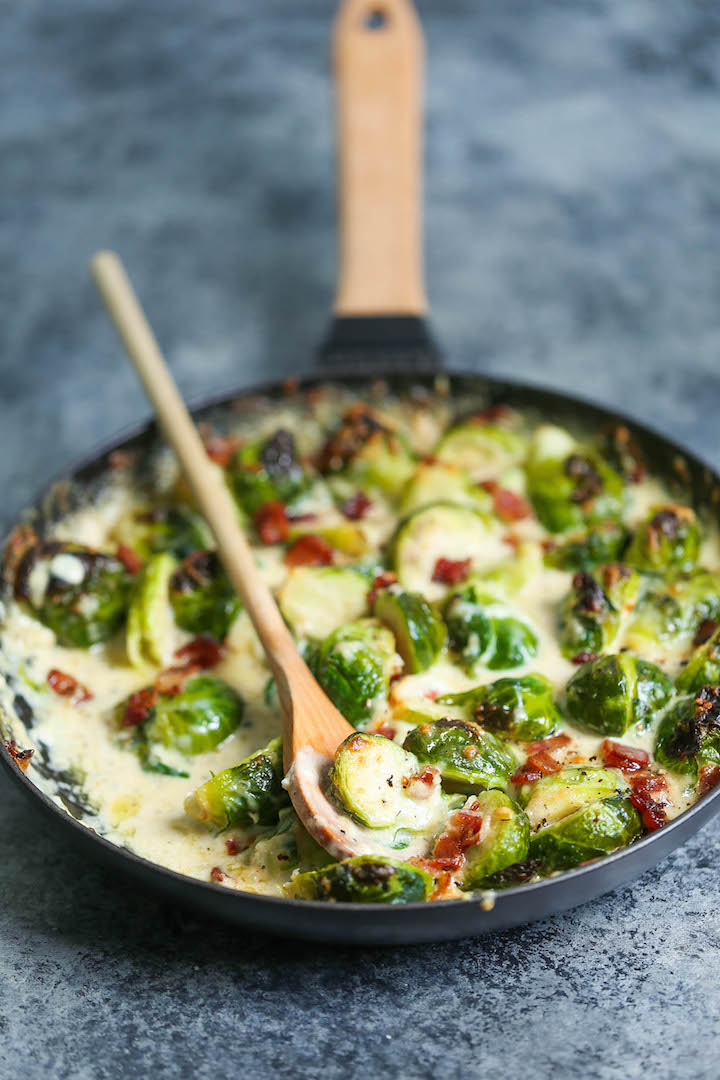 Brussels sprouts gratin and 14 other thanksgiving vegetable side dishes everyone will love
