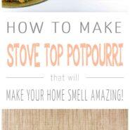 How to make everyday stove top potpourri 2 photo