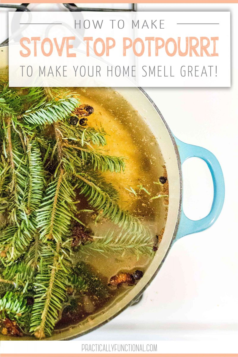 How to make stove top potpourri to make your house smell good