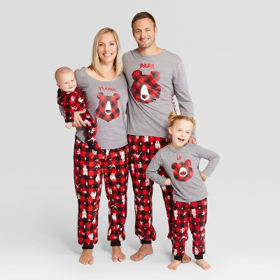 Holiday bear family pajamas and 19 other matching family Christmas pajamas that are warm, comfy, and totally budget-friendly!