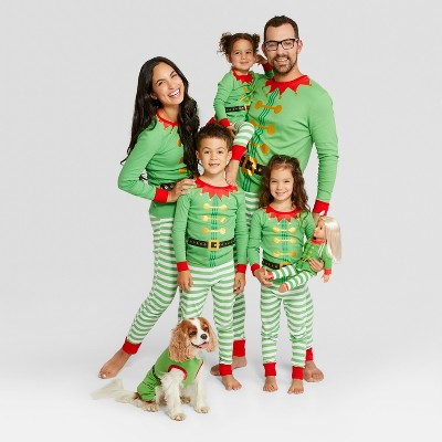Holiday elf family pajamas and 19 other matching family Christmas pajamas that are warm, comfy, and totally budget-friendly!