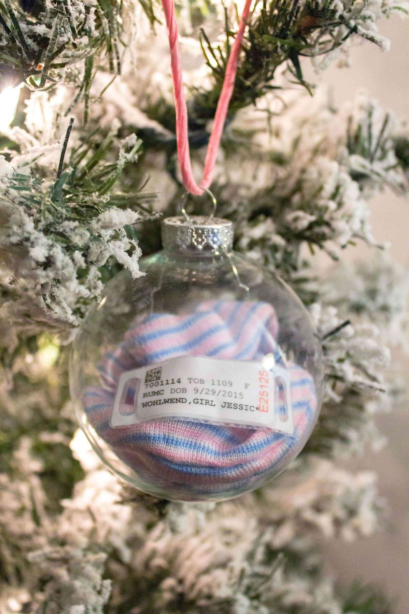 Baby\'s 1st Christmas Keepsake Ornament