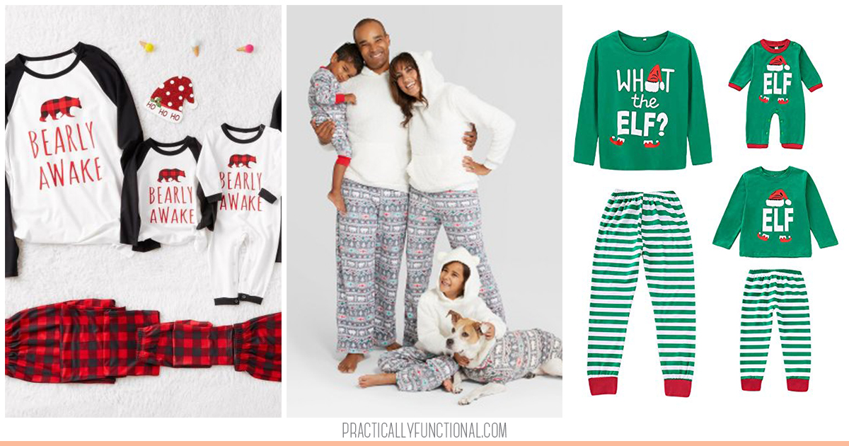 Best Family Christmas Pajamas.The Best Matching Family Christmas Pajamas