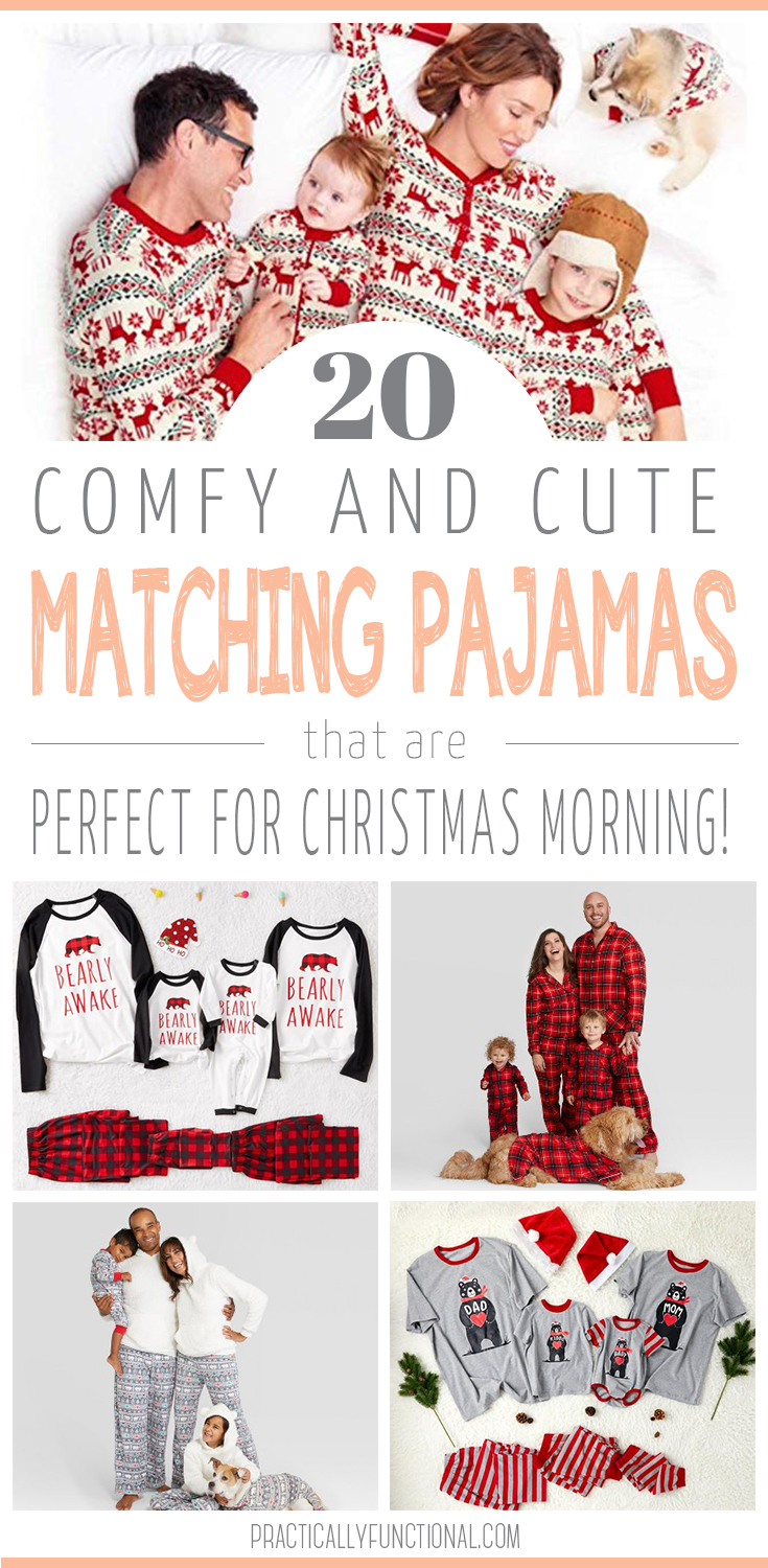 20 best matching family Christmas pajamas that are cute, warm, and budget-friendly