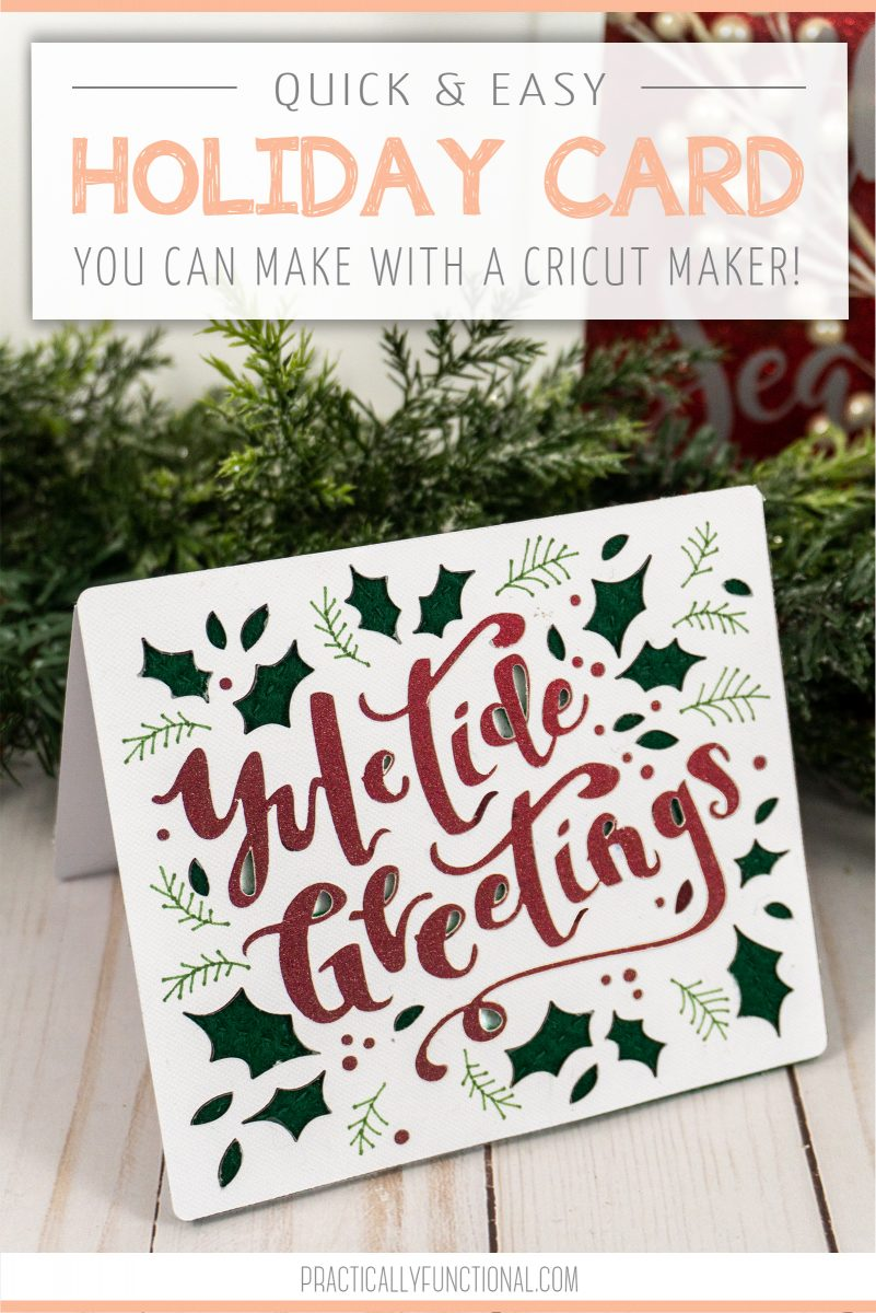 10 minute yuletide greetings card title