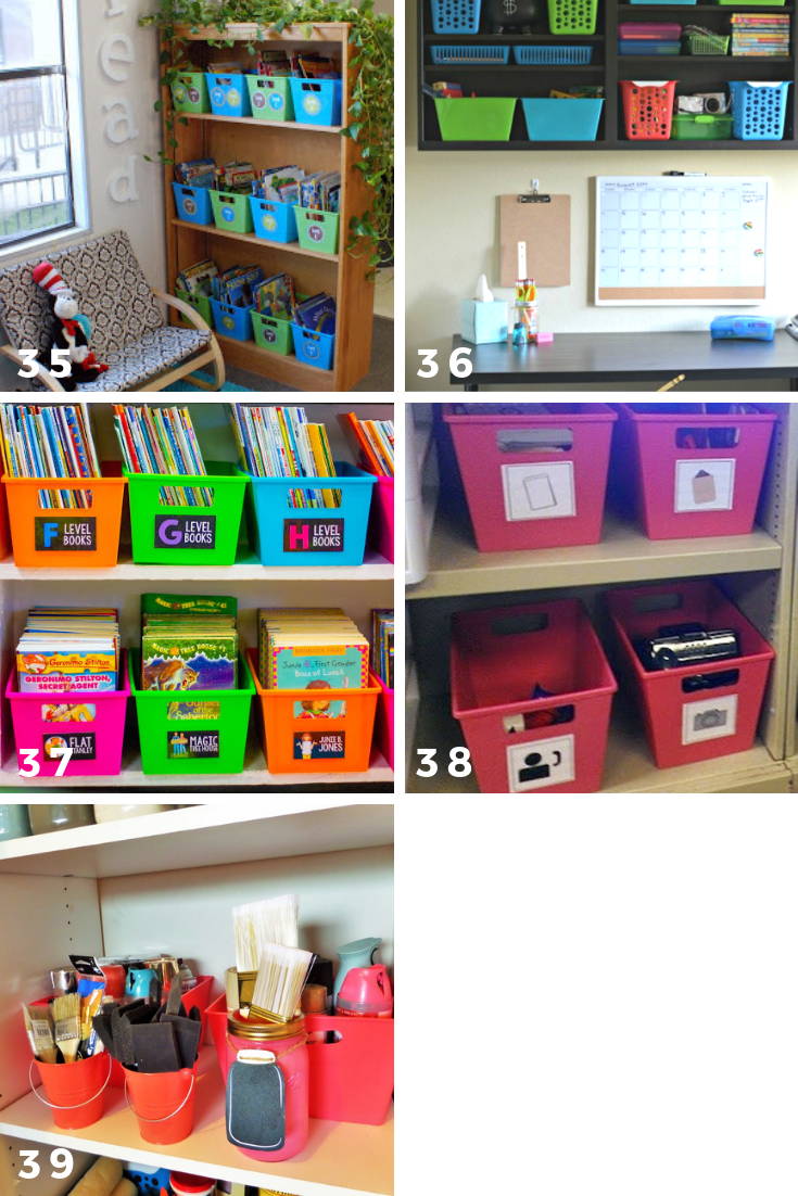 65 ways to organize using dollar tree storage bins classrooms