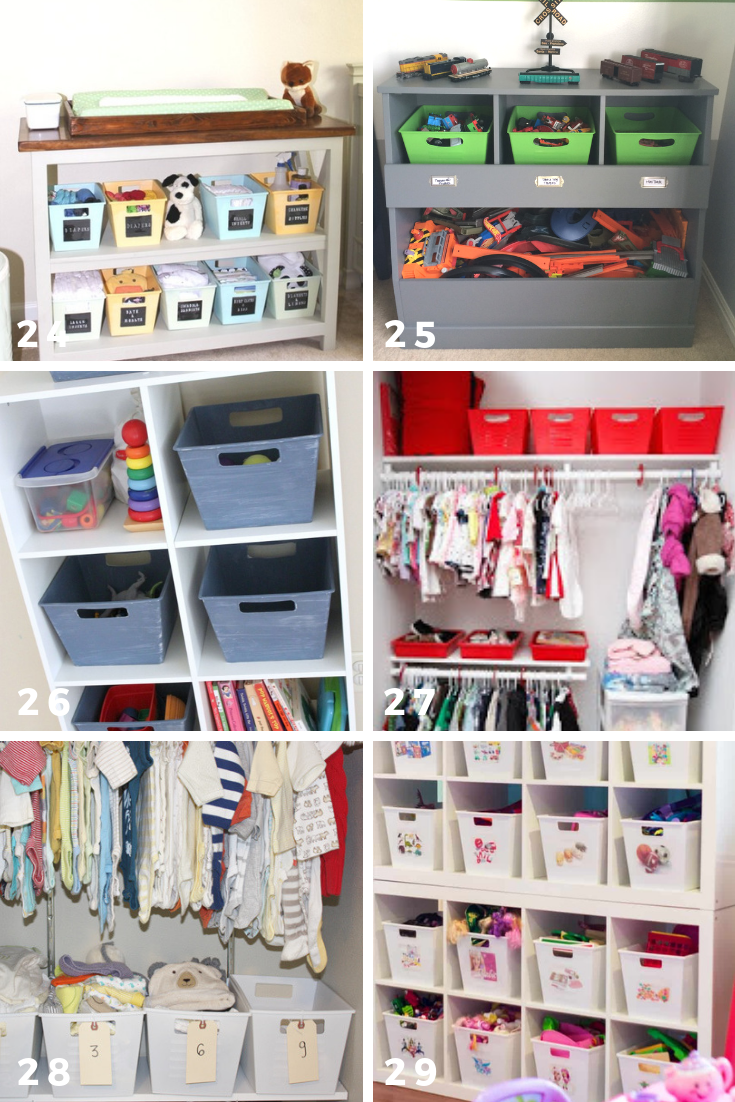 65 ways to organize using dollar tree storage bins kids stuff
