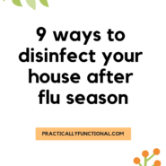 9 ways to disinfect your house after flu season 2