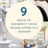 9 ways to disinfect your house after flu season 3