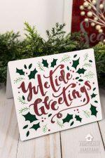 10 Minute Yuletide Greetings Card