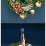 Make your own battery operated light up wreath with dollar store items 1