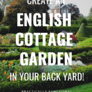 How to create a traditional english garden in your backyard