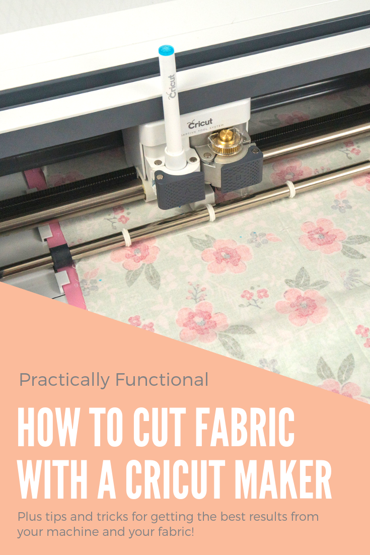 How to cut fabric with a cricut maker