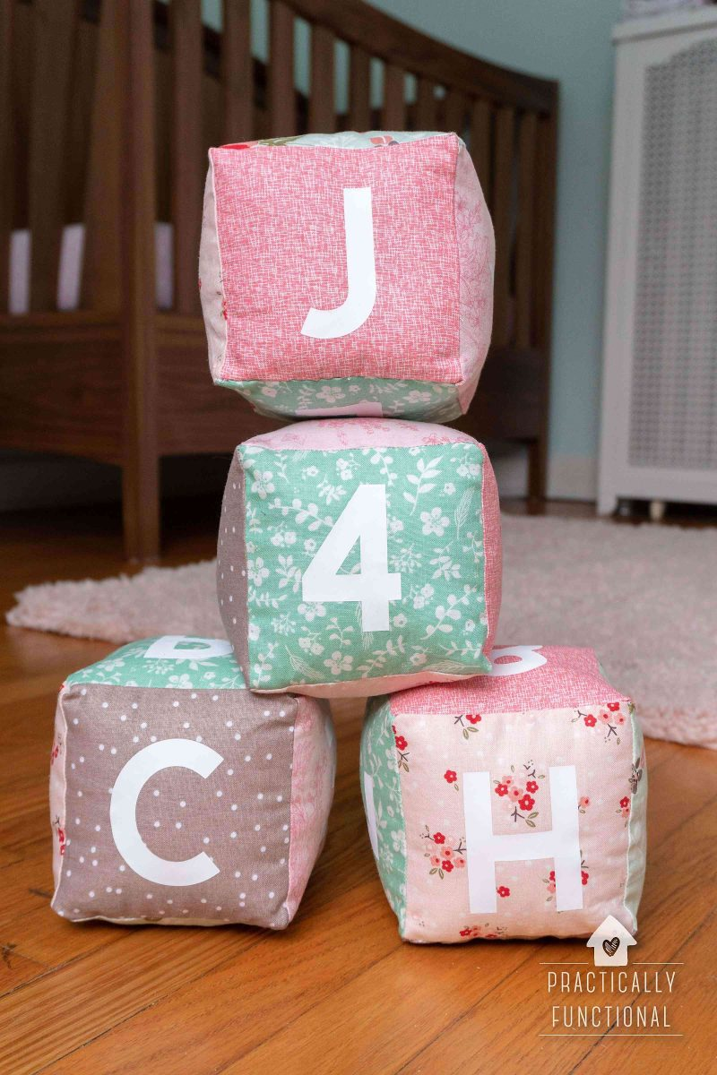 How to make baby soft cubes with a cricut maker