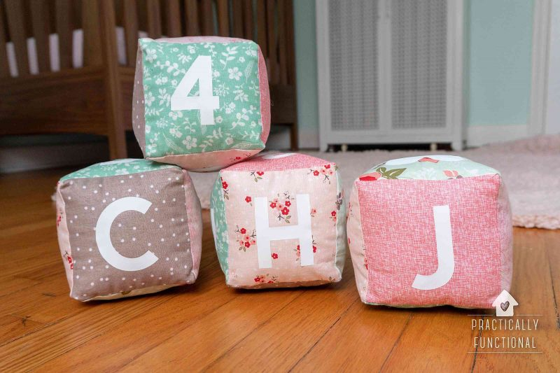 Learn how to make your own baby soft cubes with a cricut maker