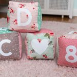 Learn how to make your own soft baby blocks with a cricut maker