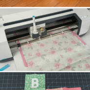 Make your own soft baby blocks with a cricut maker pin