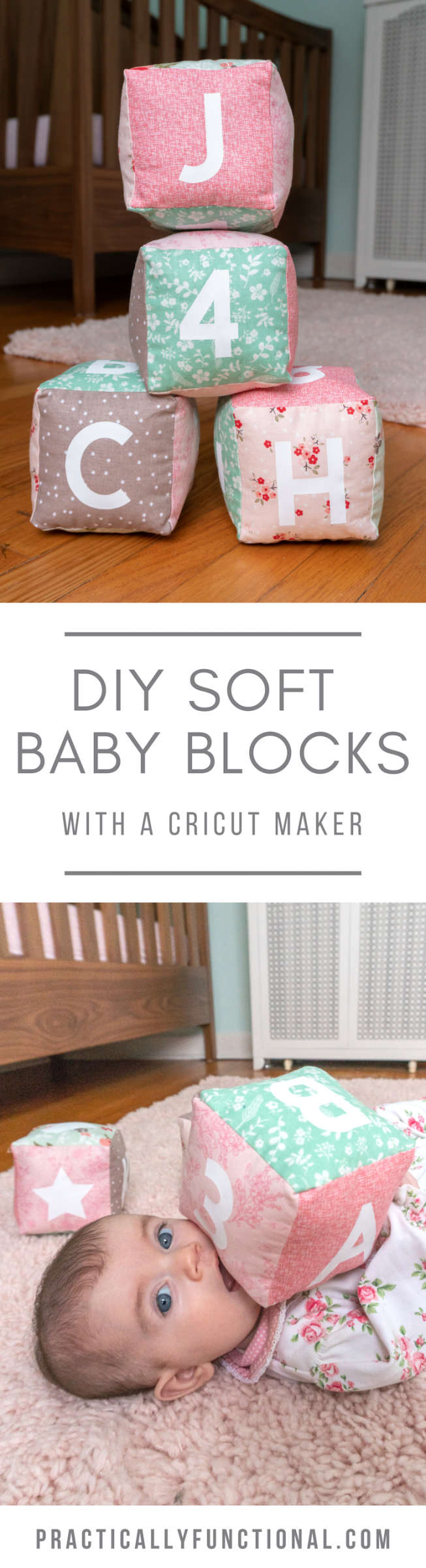 Make your own soft baby blocks with a cricut maker pin2