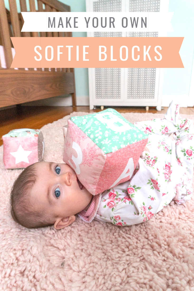 Make your own soft baby blocks with a cricut maker