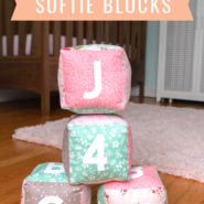 Make your own soft baby blocks with your cricut maker