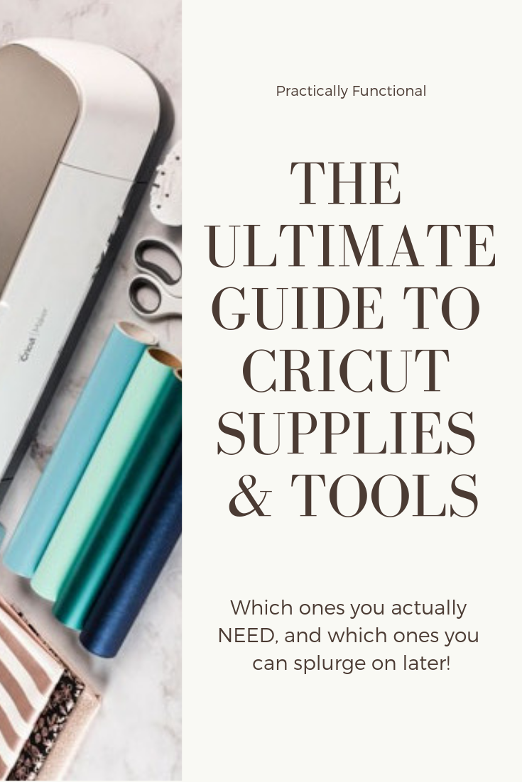 The ultimate guide to cricut supplies tools