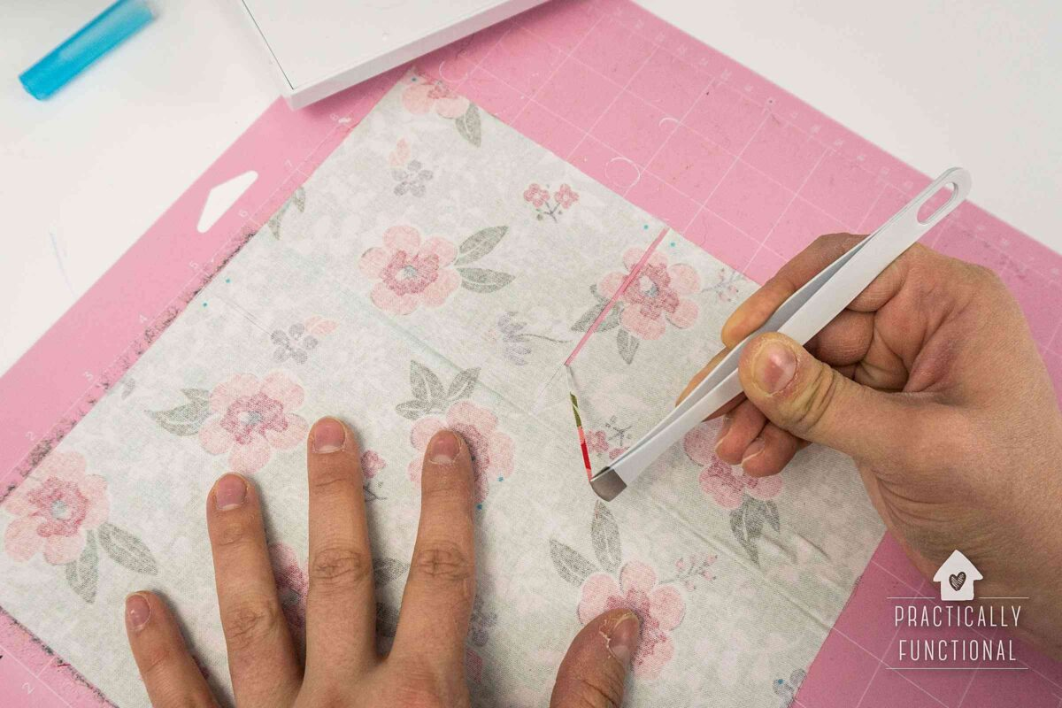 Tips and tricks for cutting fabric with a cricut maker