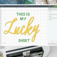 Learn how to make your own diy st. patricks day shirt with a cricut