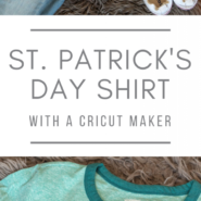 Make your own diy st. patricks day shirt with a cricut
