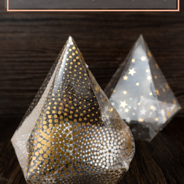 The easiest way to make your own clear party favor boxes