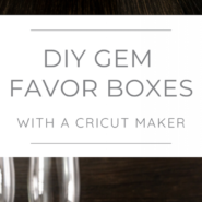 The easiest way to make your own clear party favor boxes tall pins
